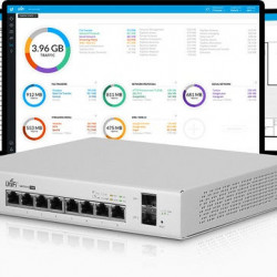 UniFi Switch 8-Port Gigabit PoE 150W