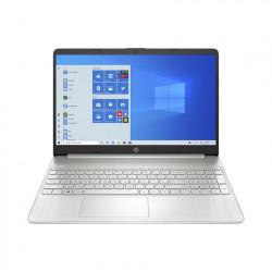 Máy tính xách tay HP 15s-fq1107TU/ Silver/ Intel Core i3-1005G1 (1.20Ghz, 4MB)/ Ram 4GB DDR4/ SSD 256GB/ Intel UHD Graphics/ 15.6 inch HD/ 3 Cell/ Win 10H/ 1Yr/ Cặp/ Chuột